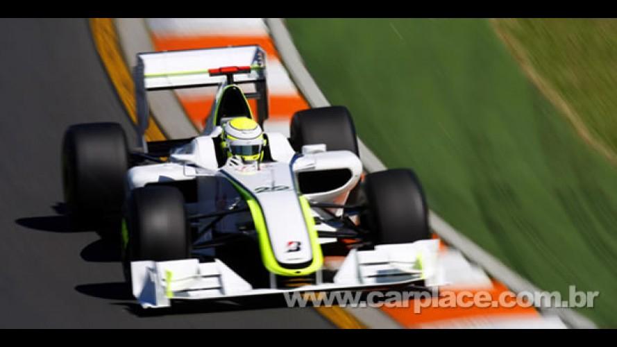 De novo? Button faz sua quarta pole position no ano e Barrichello larga em 3° no GP de Mônaco