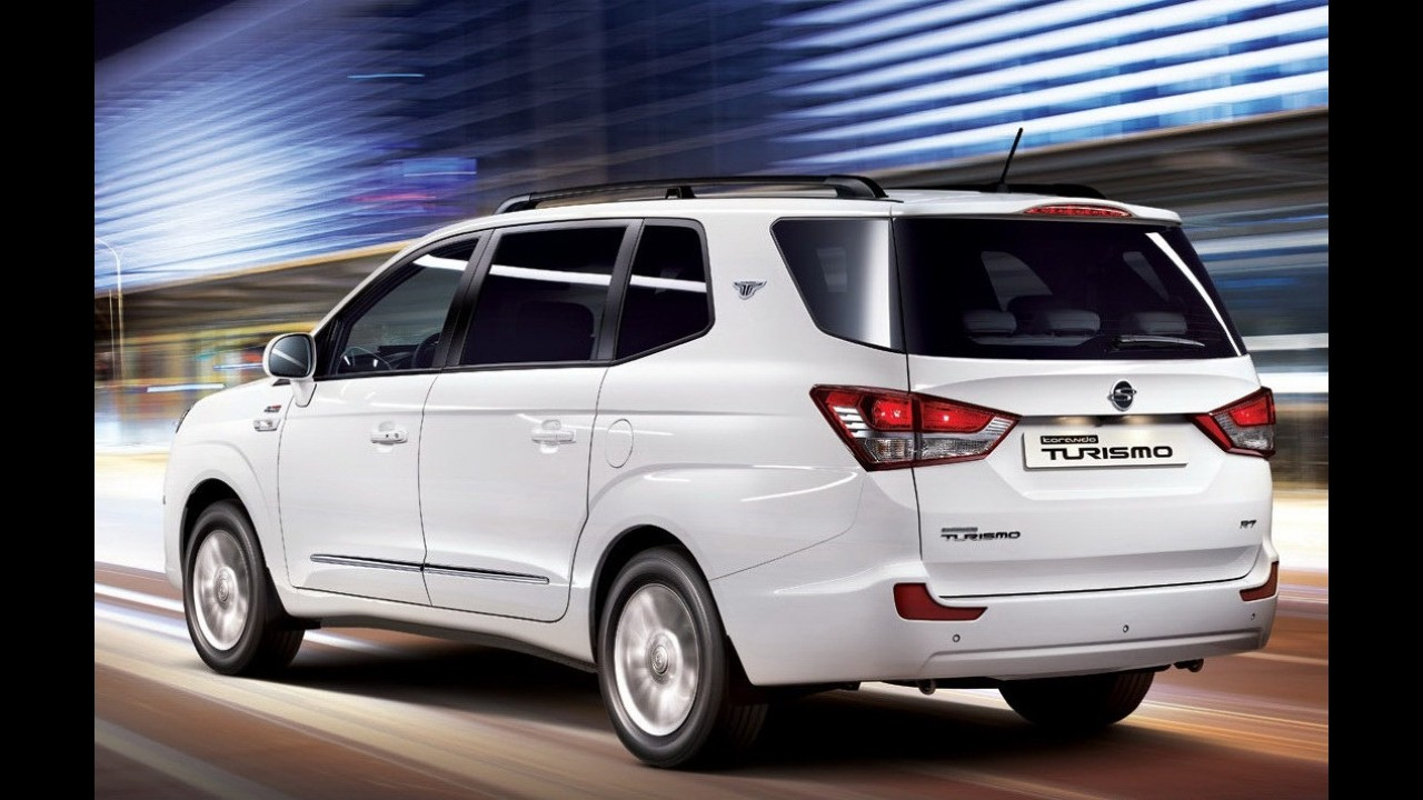 SsangYong mostra nova geração da minivan Rodius por completo - Veja galeria de fotos