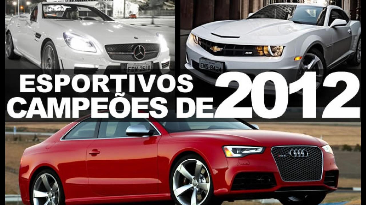 """Especial """"Campeões de 2012"""": Esportivos mais vendidos no Brasil"""