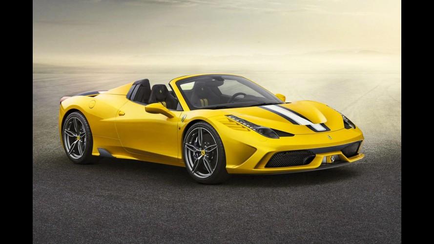 Ferrari revela 458 Speciale Aperta com produção limitada a 499 unidades