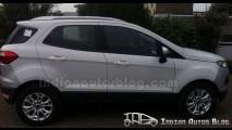 Novo Ford EcoSport é flagrado com câmbio automático Powershift na Índia