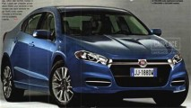 Fiat Linea 2013: Nova geração deve ganhar plataforma maior