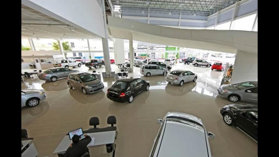 Vendas em agosto: mercado recua 3,5%; Fiat lidera e Chevrolet volta a ultrapassar VW