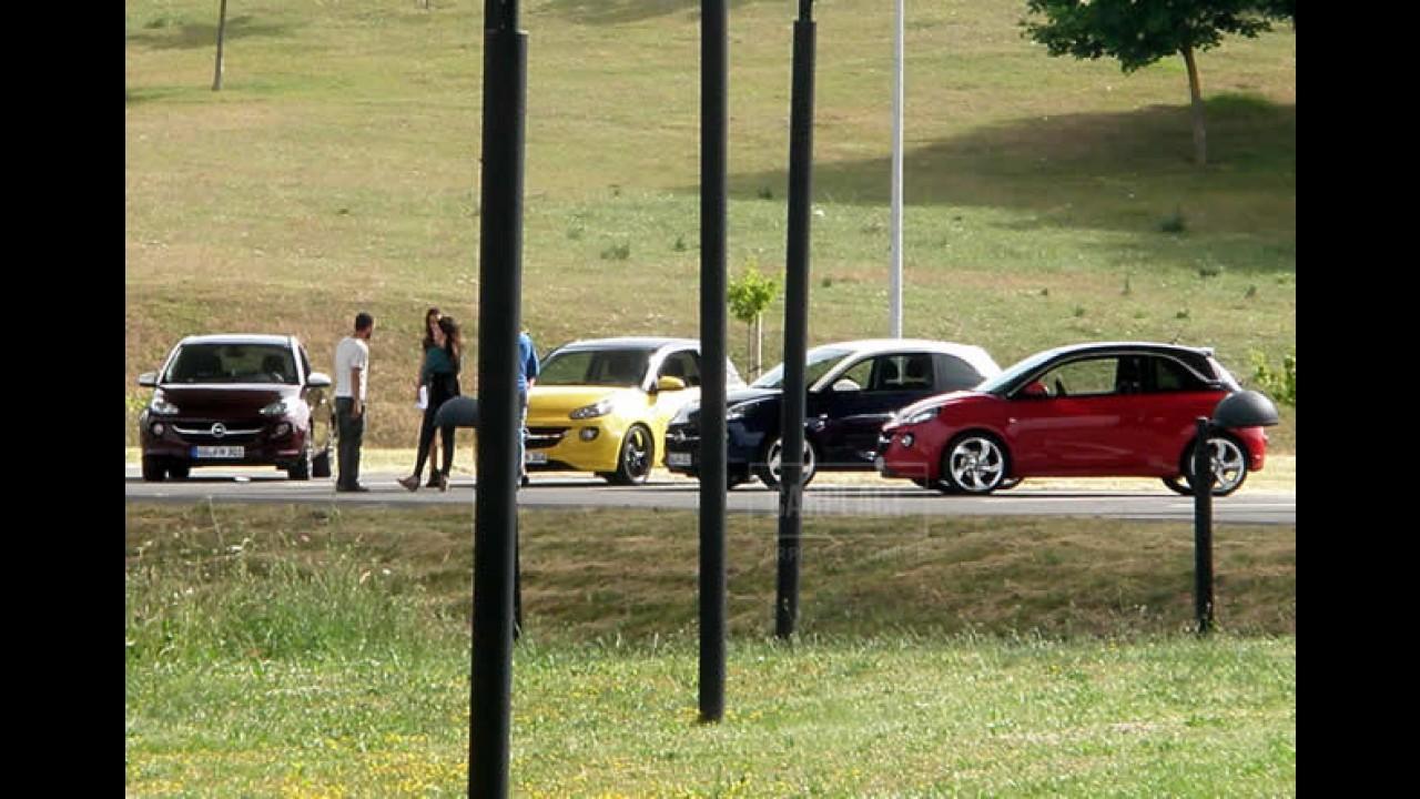 """Novo Opel Adam é flagrado sem camuflagem - Visual mescla """"concorrentes"""""""
