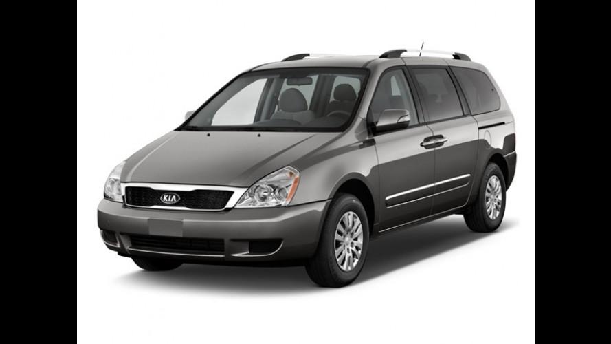 Kia Sedona será descontinuada em 2013 nos Estados Unidos