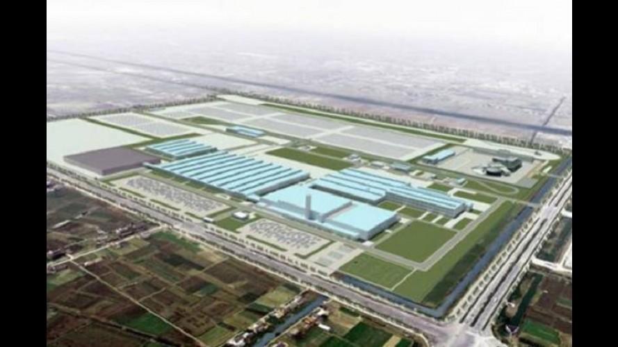 Kia inicia construção de nova fábrica na China