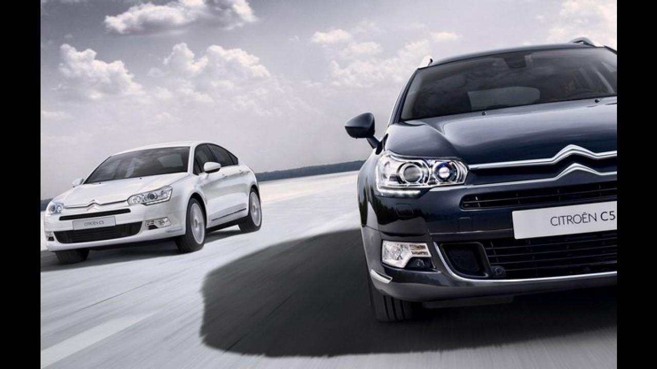 Citroën C5 2012 ganha leve reestilização