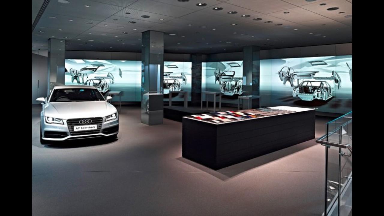 Audi City: Marca alemã abre o primeiro showroom virtual em Londres