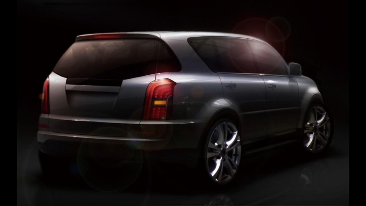SsangYong anuncia reestilização do SUV Rexton com divulgação de dois teasers