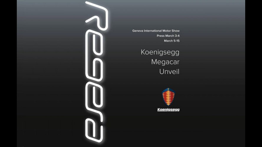 """Koenigsegg prepara """"megacarro"""" Regera de 1.359 cv"""