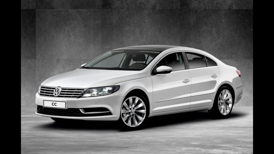 """Volkswagen CC ganha """"versão de entrada"""" com motor 2.0 e preço de R$ 146.990"""