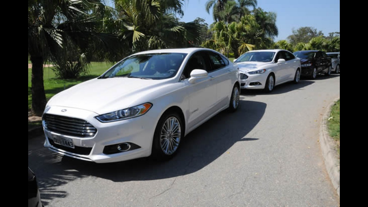 Ford Fusion Hybrid é o carro mais econômico do país: 16,8 km/l na cidade