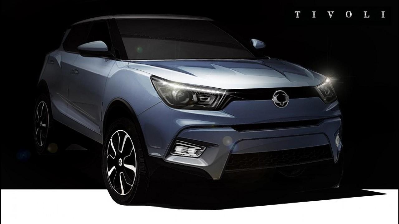 SsangYong: crossover rival do EcoSport se chamará Tivoli