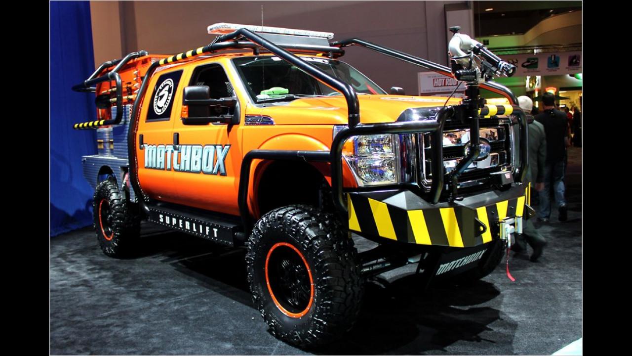 ,Matchbox Brush Truck