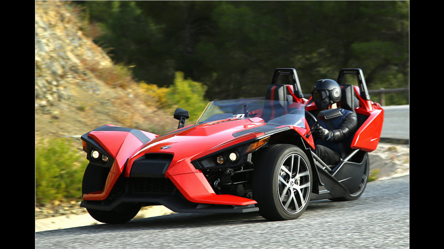 Polaris Slingshot (2016): Performance-Dreirad im Test