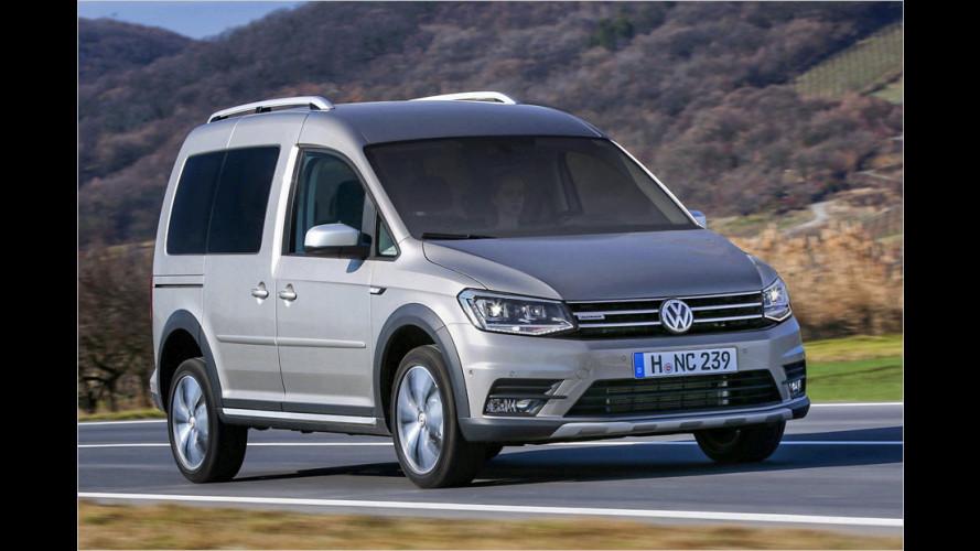 Der neue VW Caddy Alltrack (2016) im Test