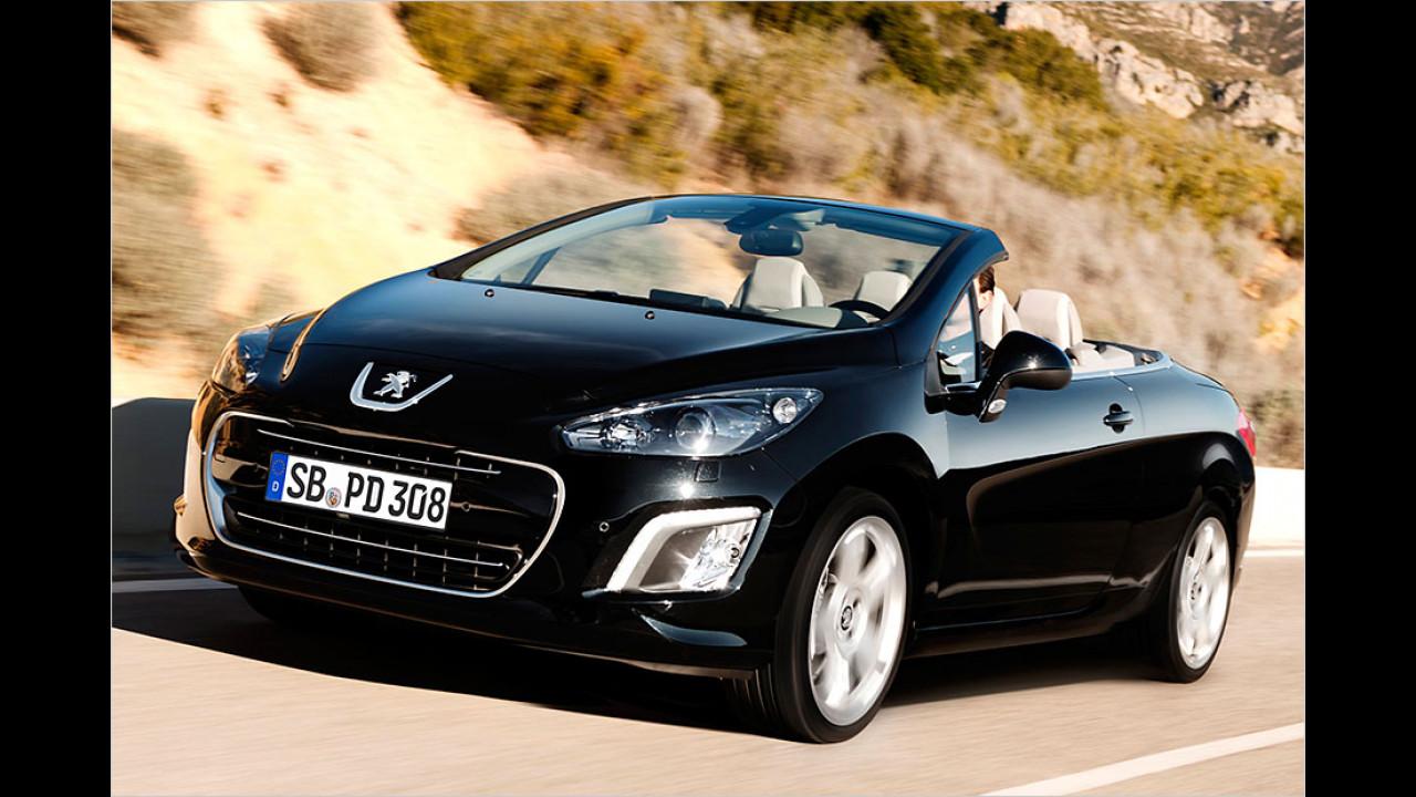 Peugeot 308 CC (23 Sekunden, bis 12 km/h)