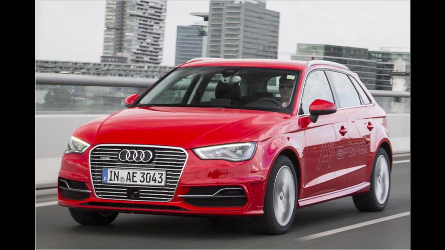 Audi A3 Sportback e-tron mit Plug-in-Hybridsystem im Test