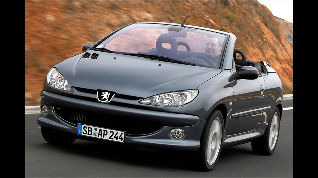 Platz 6: Peugeot 206 CC
