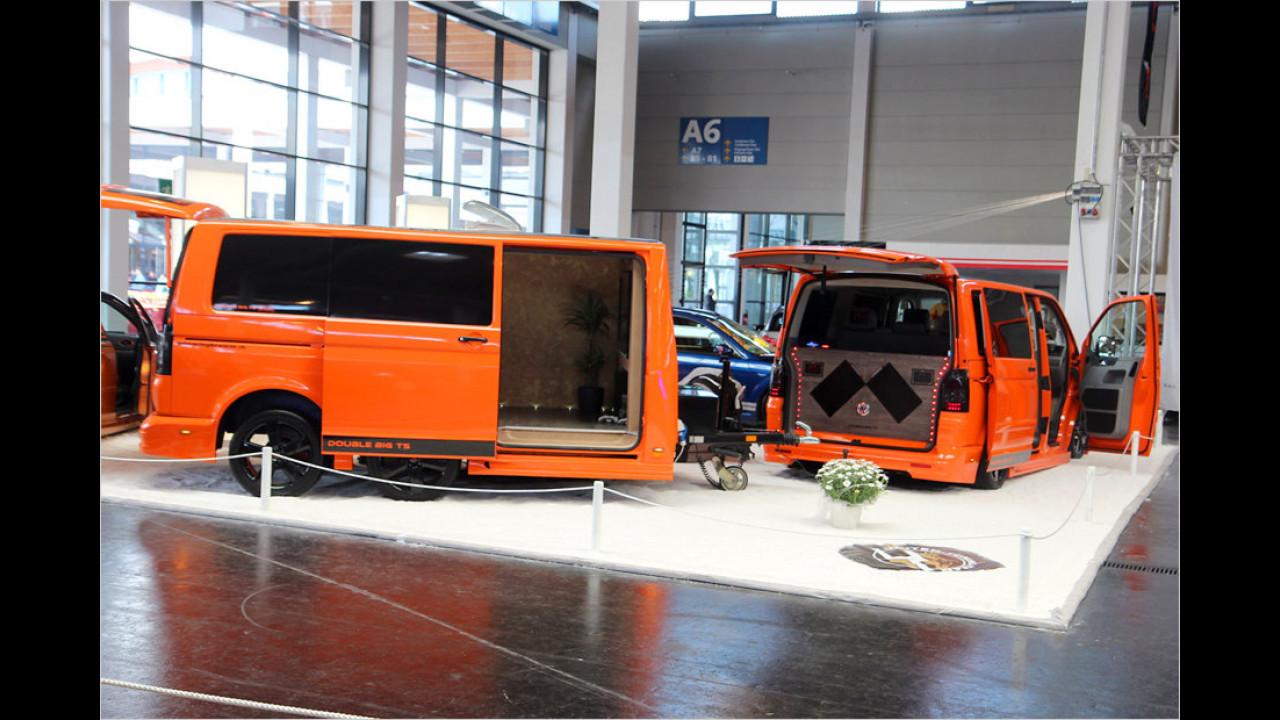 VW T5 plus Anhänger