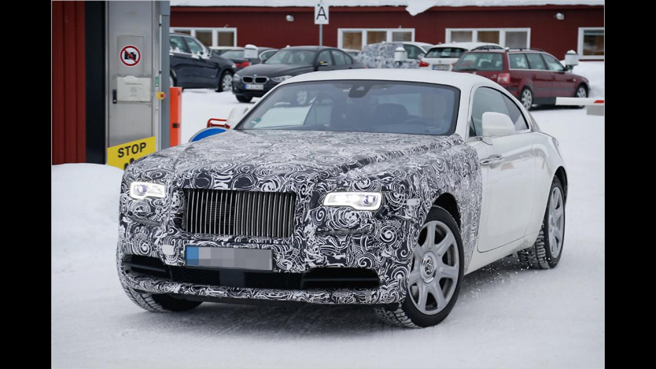 Rolls-Royce Wraith Facelift