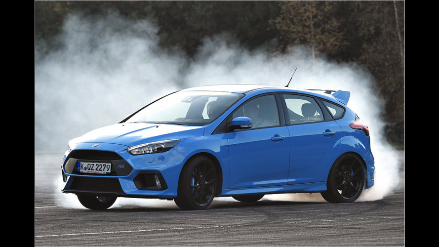 Ford Focus RS (2016): Erste Mitfahrt