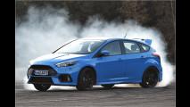 Erste Mitfahrt im Ford Focus RS: Mehr quer