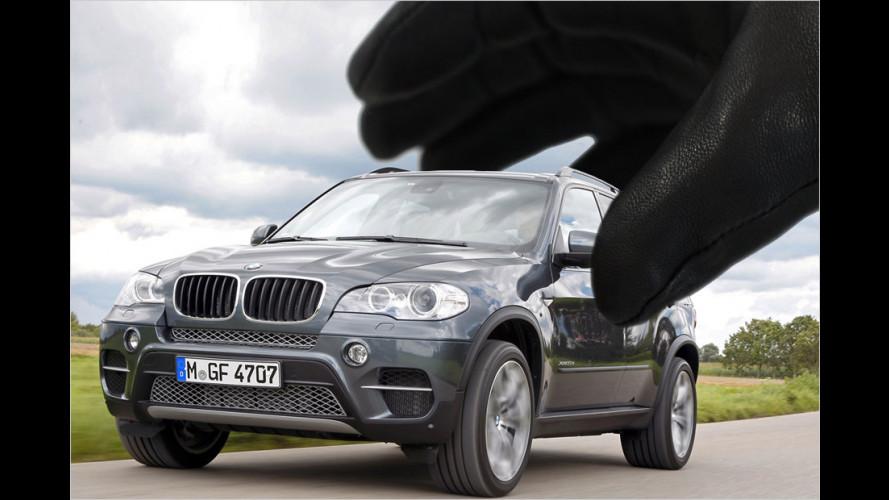 Die Lieblinge der Autodiebe 2012