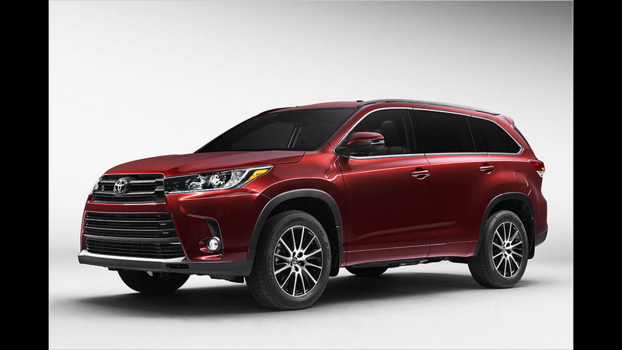 Toyota Highlander Facelift