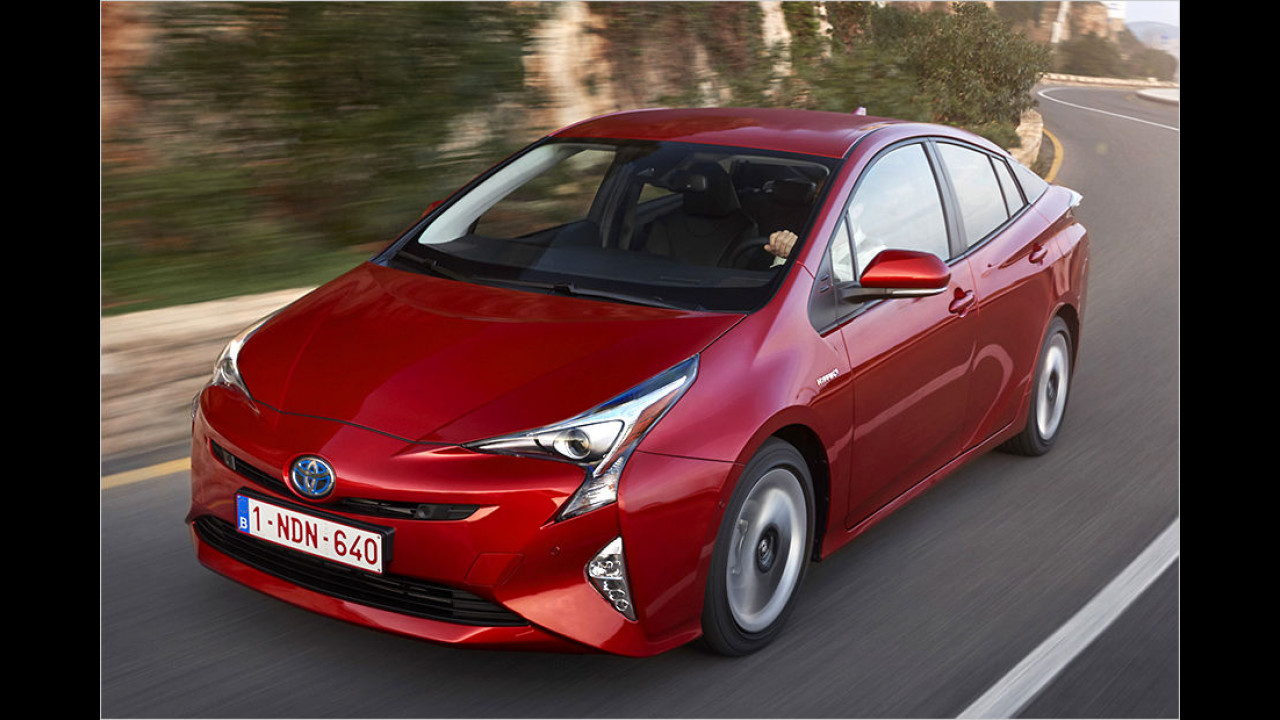 Toyota Prius: Platz 2 ,World Green Car of the Year