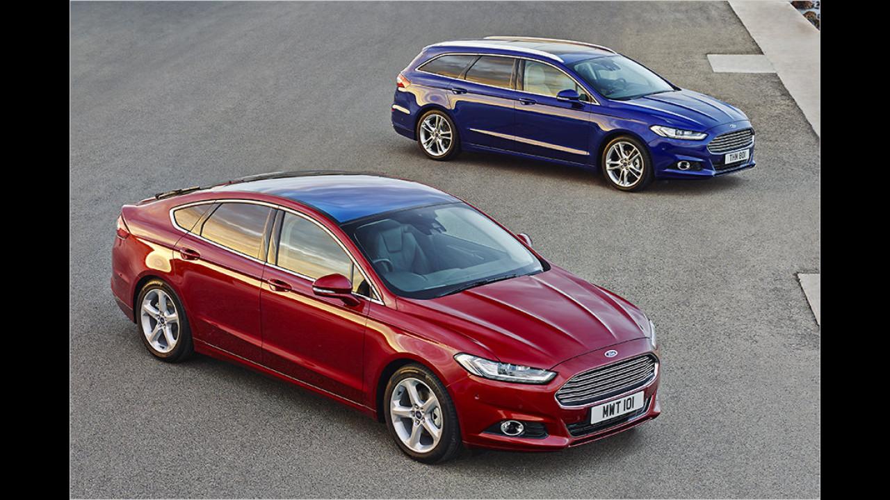 Mittelklasse, Platz 3: Ford Mondeo