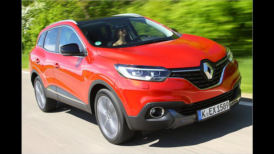 Renault Kadjar (2015) im Test: Kompakt-SUV mit 130-PS-Diesel