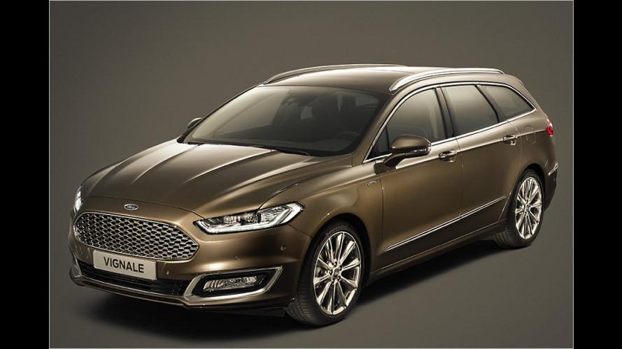 Ford Mondeo als Vignale mit Premium-Ausstattung