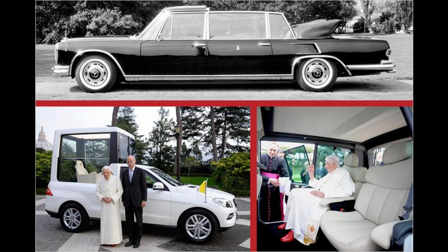 Die besonderen Autos der Päpste