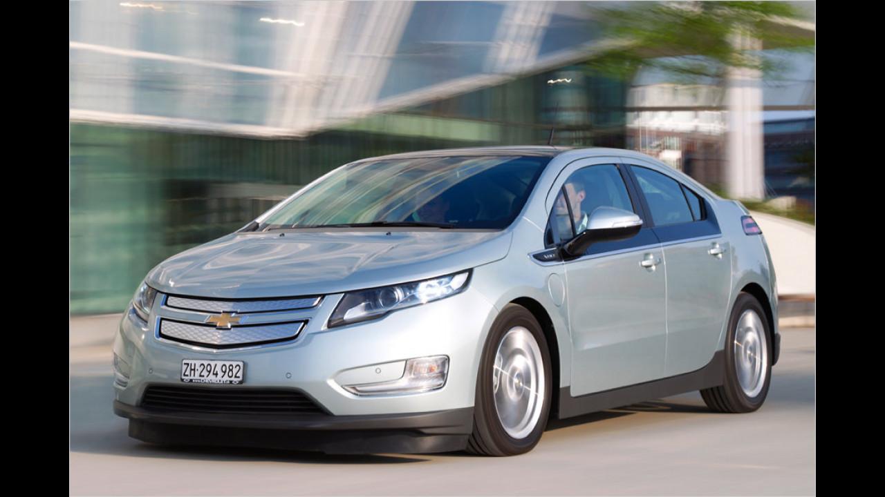 Der Volt, das Chevrolet-Gegenstück zum Opel Ampera, wurde 2013 nur 25-mal neu zugelassen