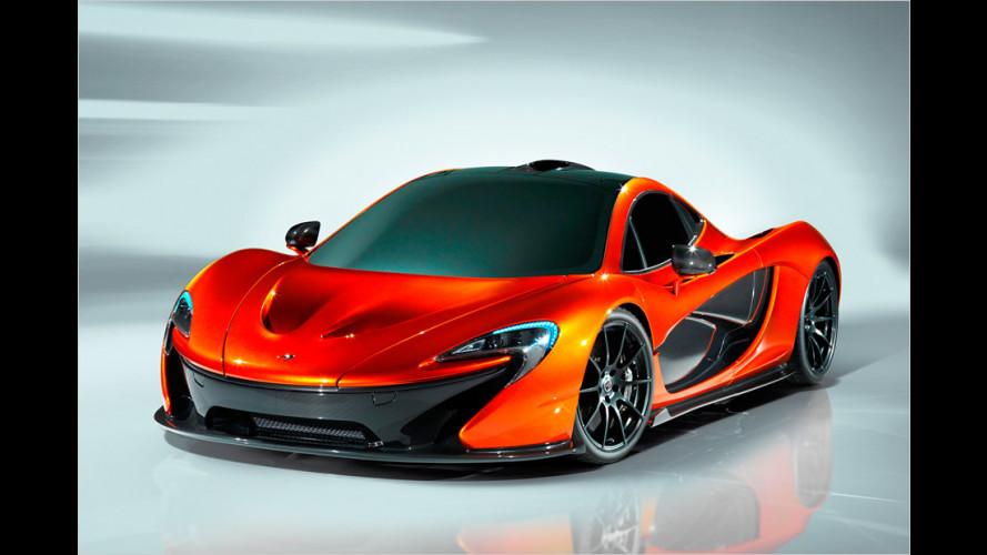 P1: McLaren setzt Maßstäbe