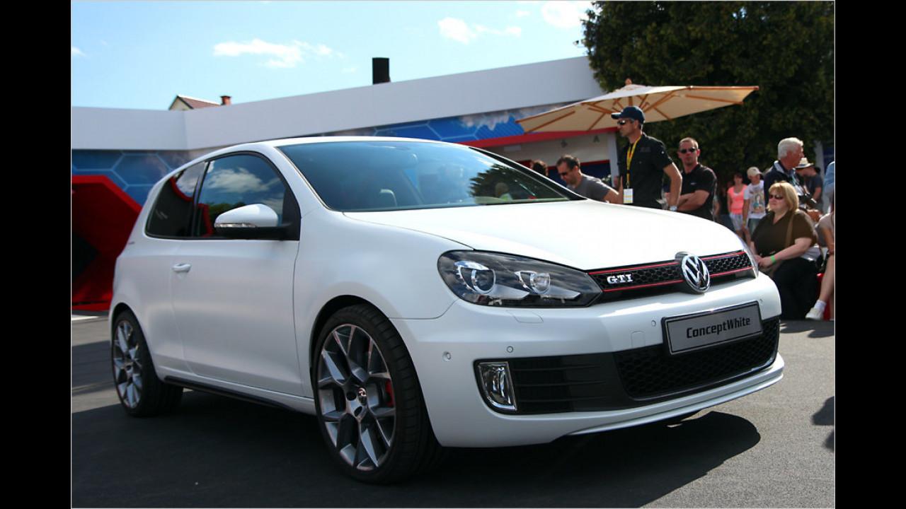 VW Golf GTI Concept White