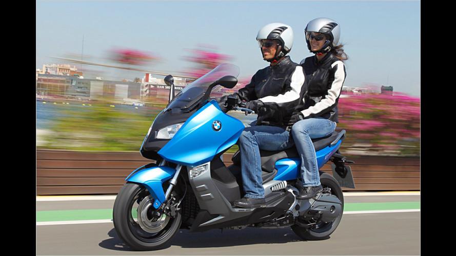Roller mit Motorrad-Genen