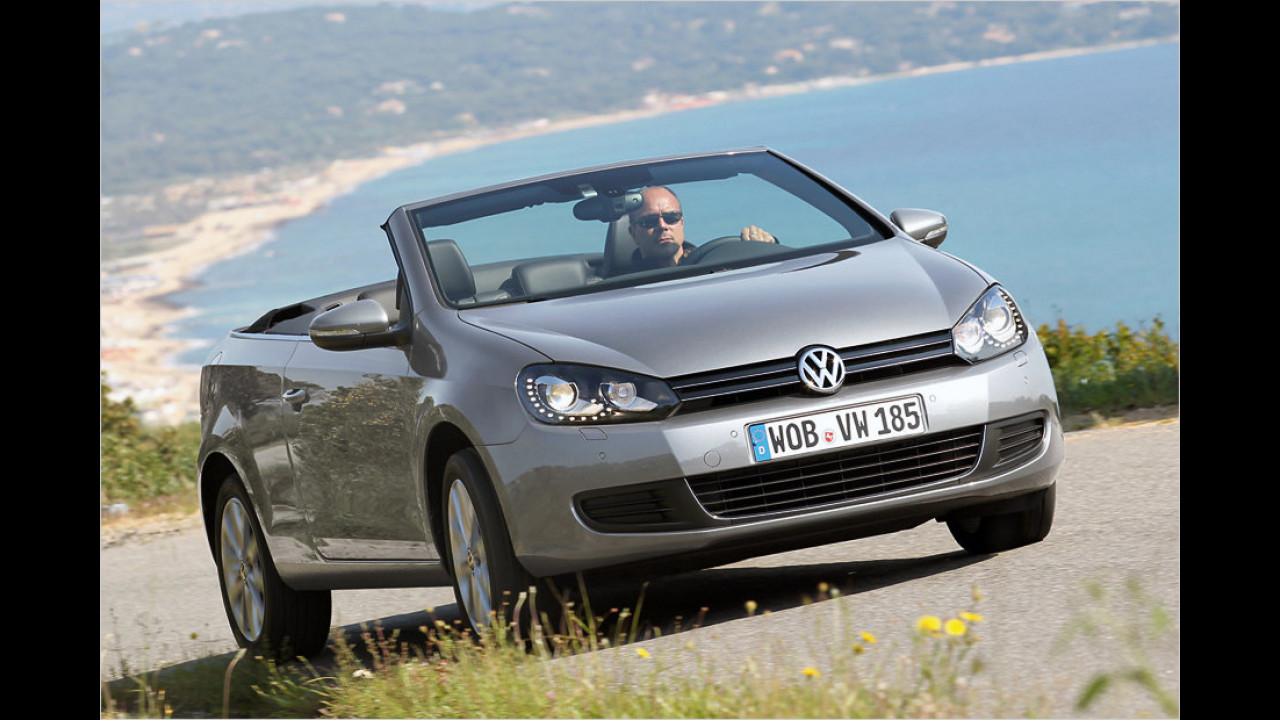 VW Golf Cabriolet 1.6 TDI BlueMotion Technology