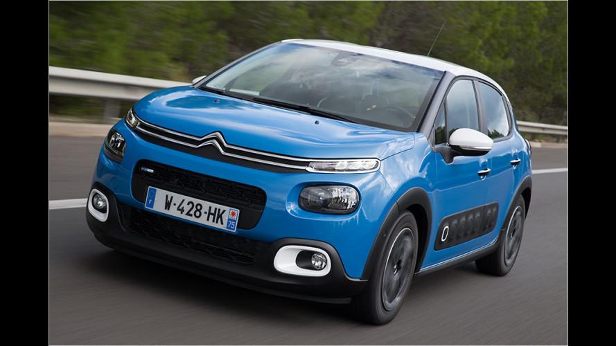 Neuer Citroën C3 (2016) mit 82-PS-Saugbenziner im Test
