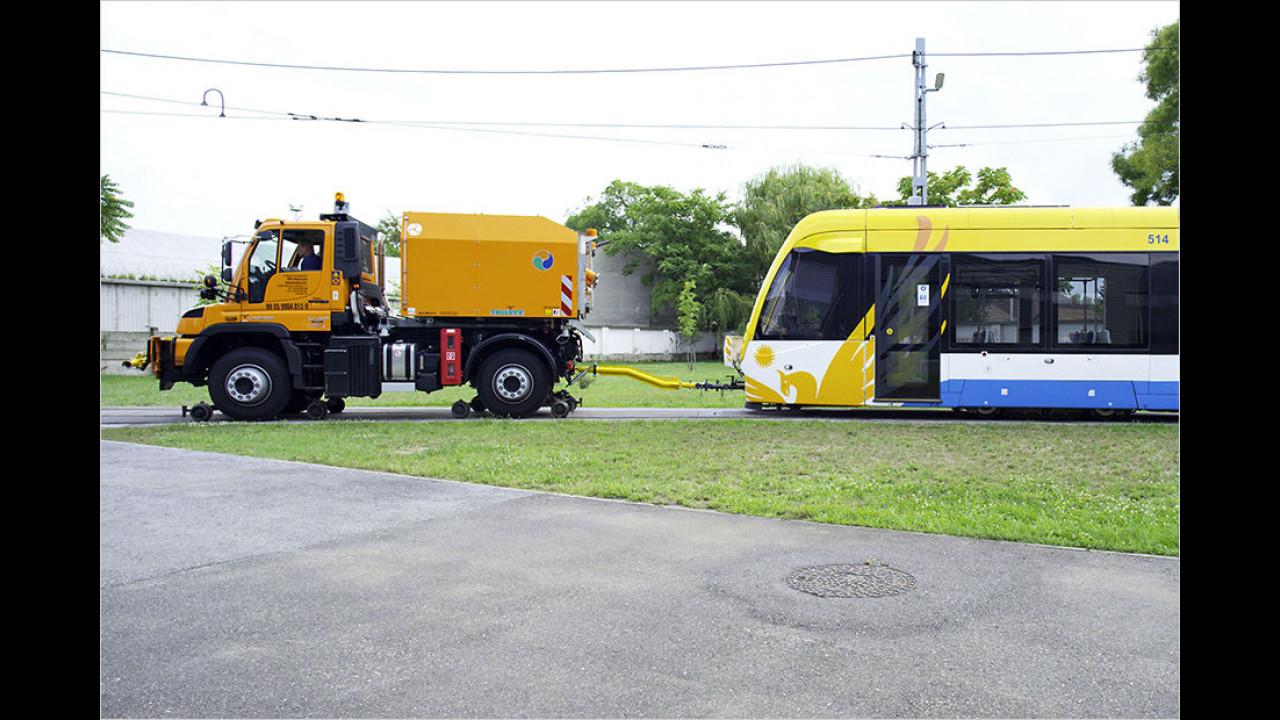Abschlepp-Wagen