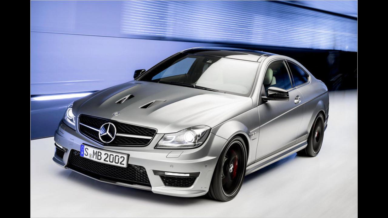 Platz 1: 507 PS im Mercedes C 63 AMG Coupé Edition 507