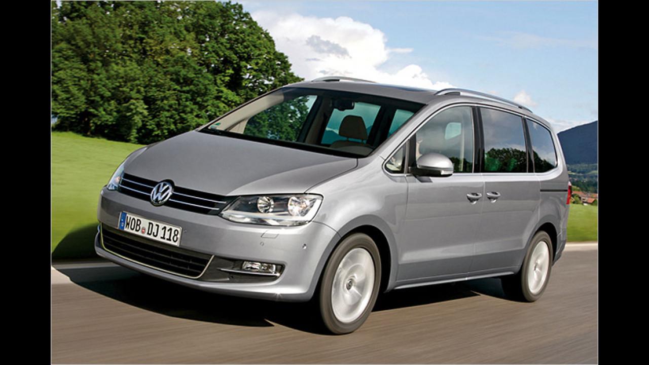 Vans, Platz 3: VW Sharan (10.015 Stück)