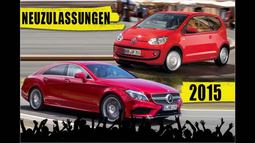 Bestseller: Die beliebtesten Autos Deutschlands im ersten Halbjahr 2015