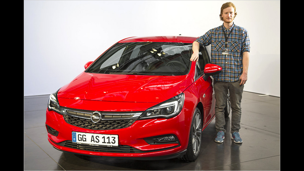 Der erste Eindruck vom neuen Opel Astra