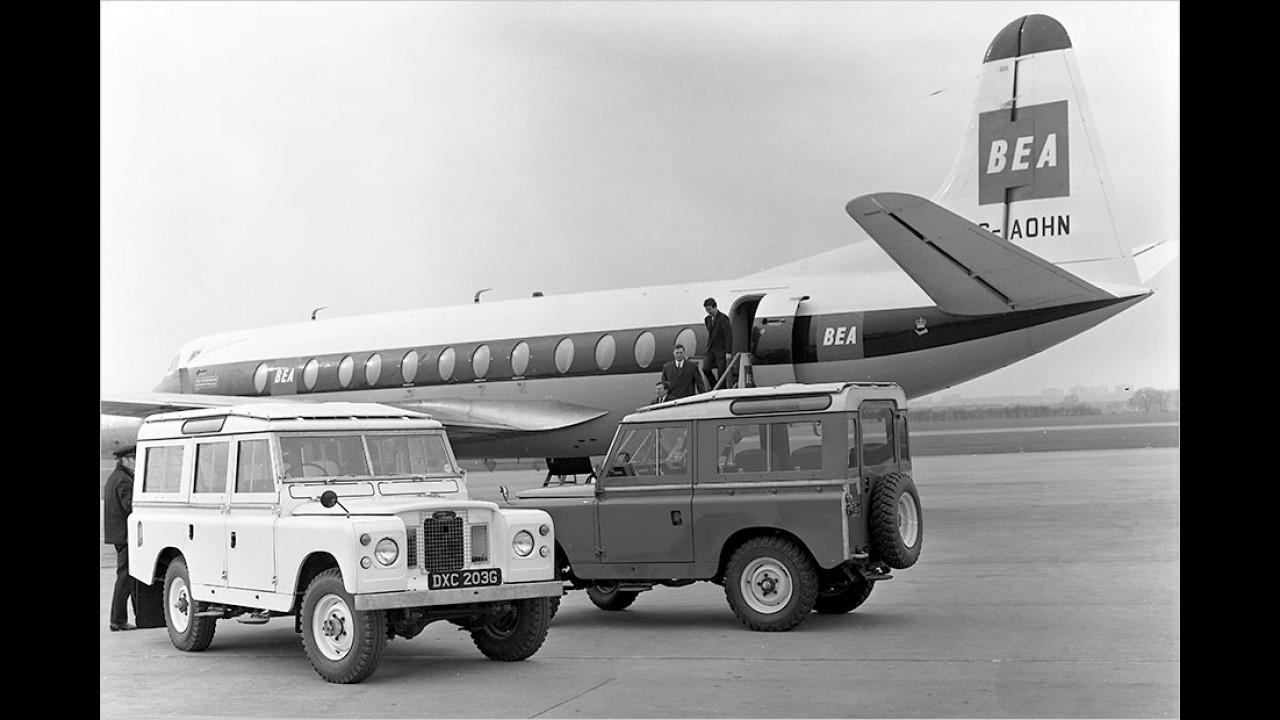 Land Rover Series IIA (1961 bis 1971)