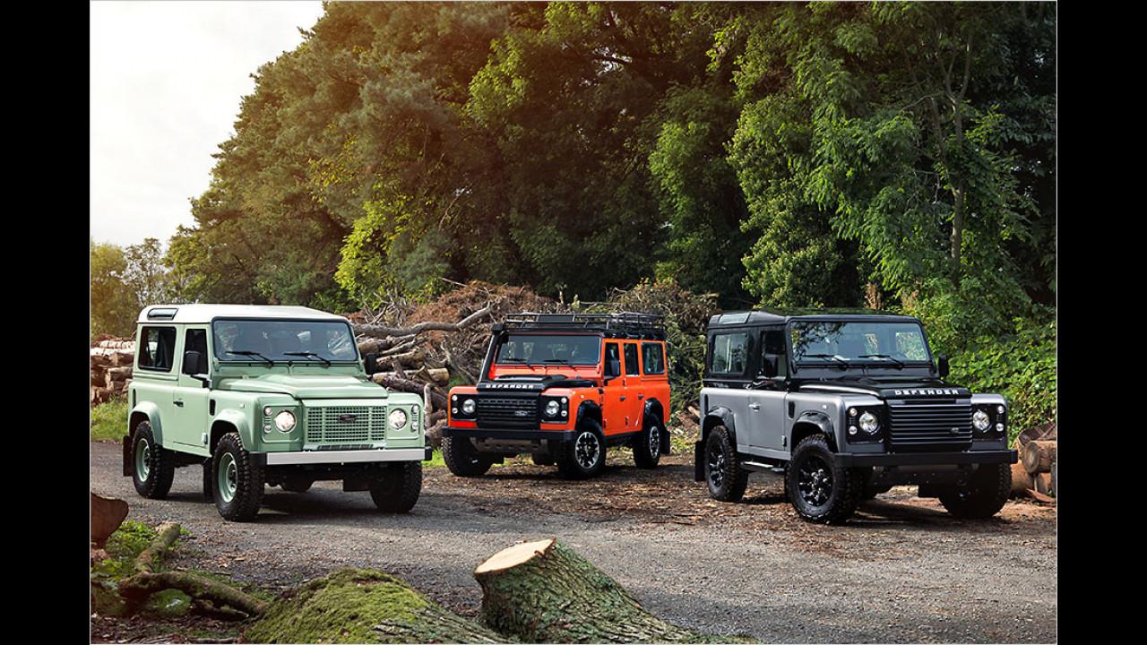 Land Rover Sondermodelle 2015