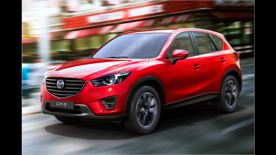 Update für Mazda 6 und CX-5 (2014)
