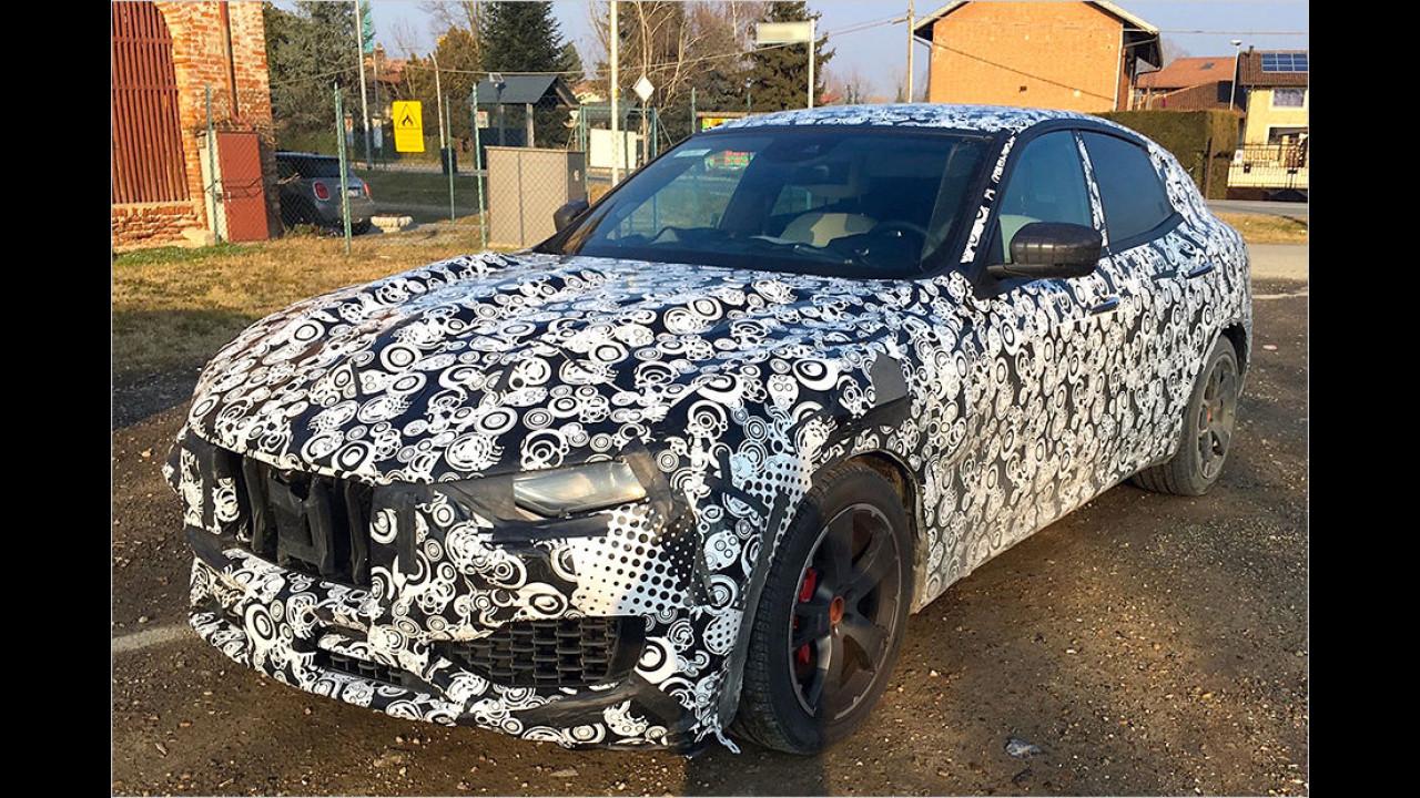 Erwischt: SUV von Maserati