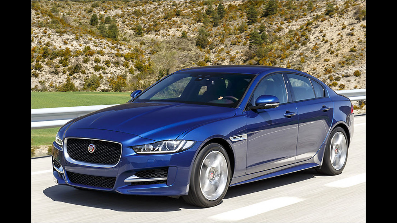 Platz 4: Jaguar XE (149 Punkte)